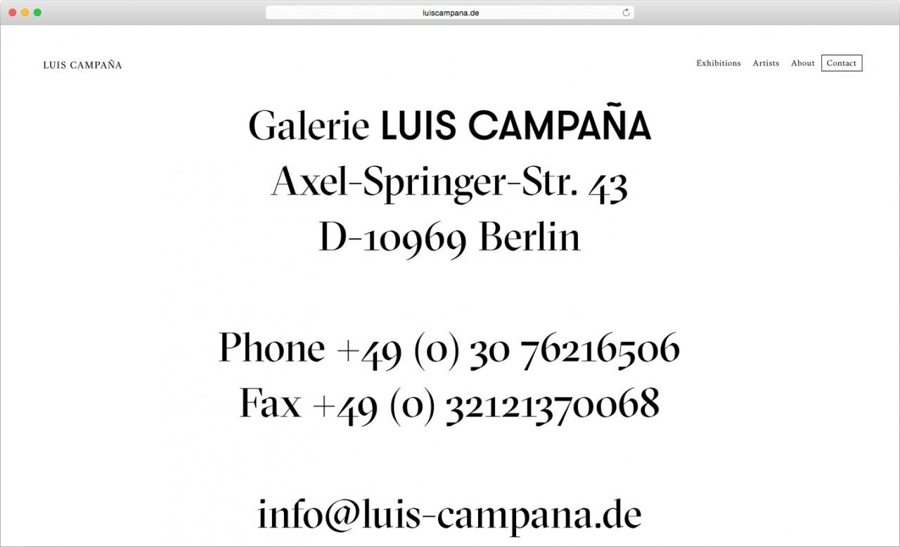 C/O Luis Campaña