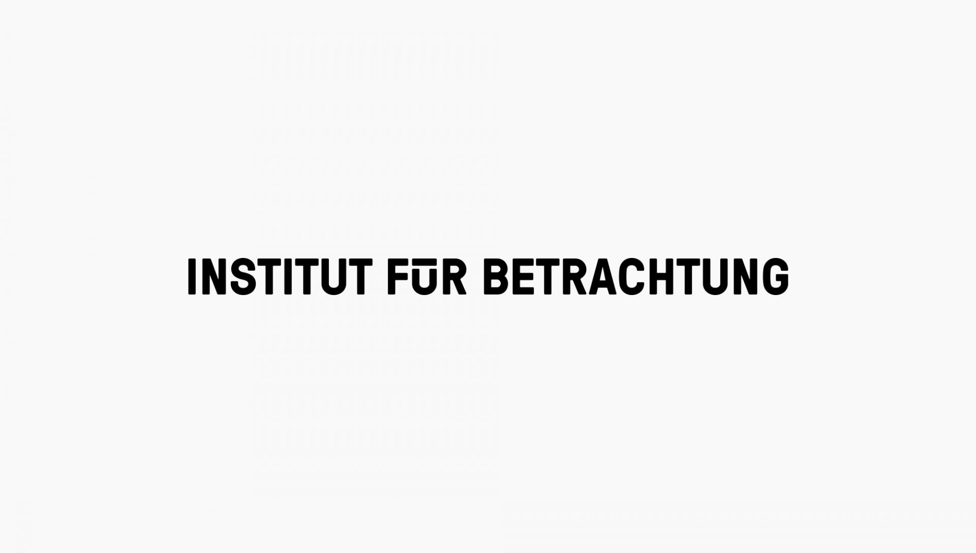 C/O Institut für Betrachtung